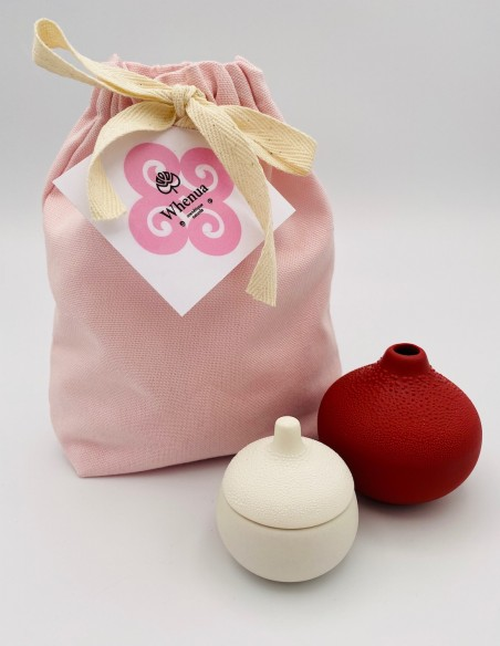 Pochon cadeau rose - Whenua